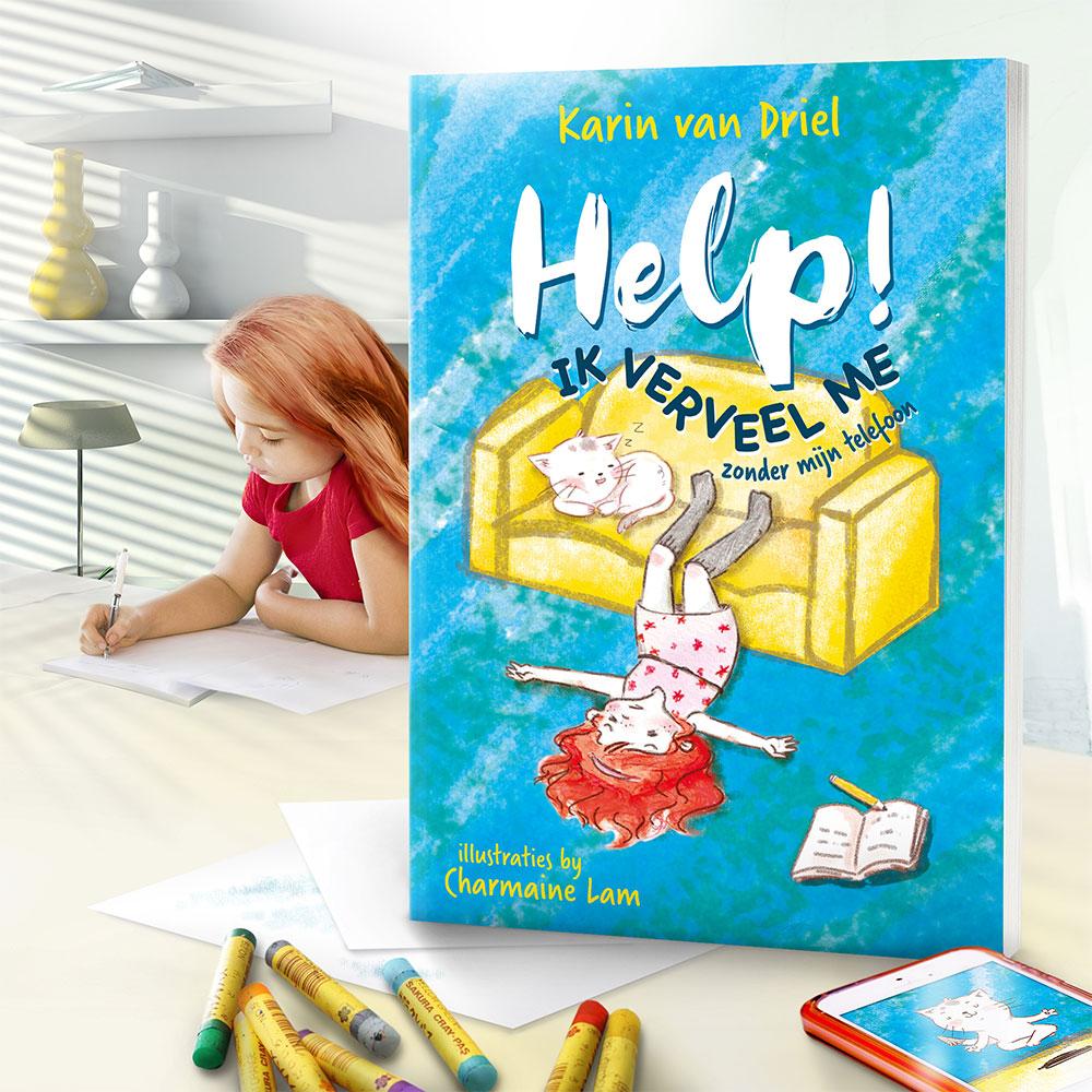 Help ik verveel me - Karin van Driel - kinderboek