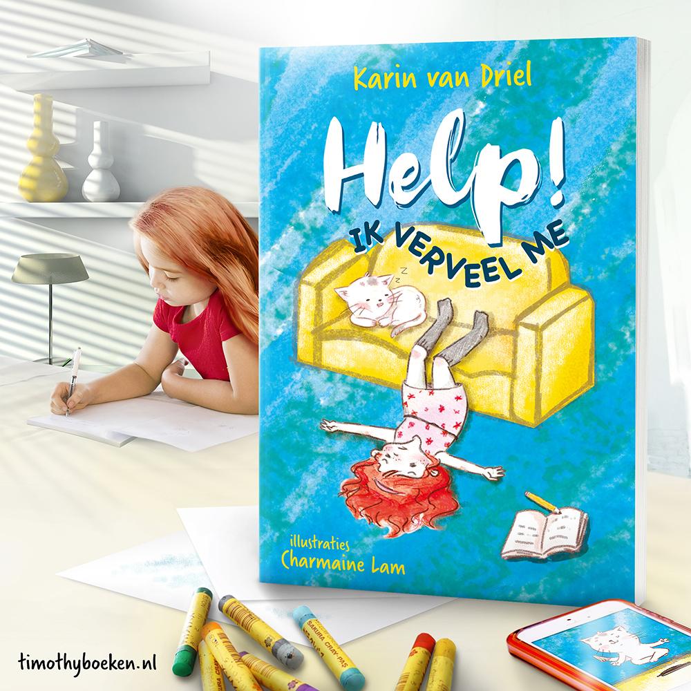 Kinderboek - Help! Ik verveel me - Karin van Driel